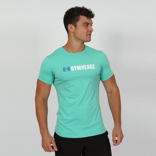 Gymheadz Ikon T-Shirt - Mint Green