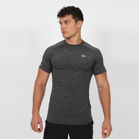 Gymheadz Hypercool Affinity T-Shirt - Dark Grey