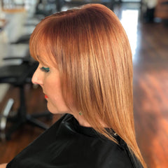 Autumn Winter Copper Hair Colouring