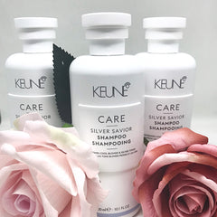 Keune Care Silver Savior Purple Shampoo for Silver Blonde Hair