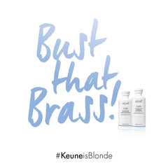 Keune So Pure Silver Savior Purple Shampoo & Conditioner for Blonde Hair