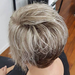 Clean, Blonde Highlights