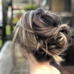 Wedding Up Do Hair Up Bun High Bun Twist Creative Hair Styling