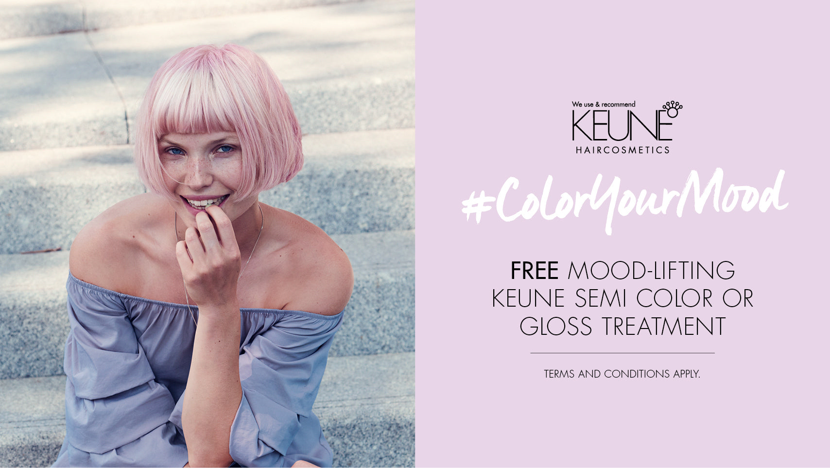 VIP FREE SEMI HAIR COLOUR DAY