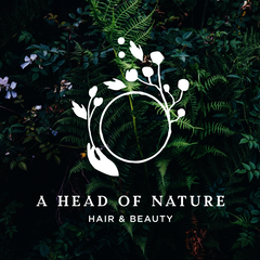 A Head Of Nature Logo Natural Environmentally-Friendly Auckland Hairdressers