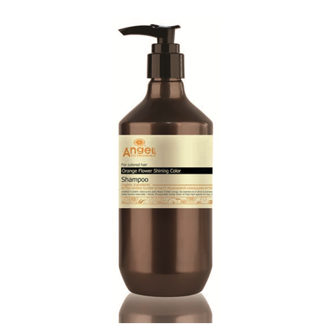 Angel Orange Flower Shining Colour Hair Shampoo 400ml