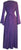 Net Medieval Vampire Gothic Renaissance Dress Gown - Agan Traders, Purple