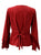 Gypsy Medieval Renaissance Vintage Bohemian Stylish Top Blouse - Agan Traders, B Red