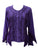 Gypsy Medieval Renaissance Vintage Bohemian Stylish Top Blouse - Agan Traders, Purple