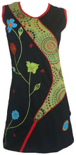 RD 13 Nepal Bohemian Cotton Summer Dress - Agan Traders, Multi 13