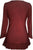 147 B Gypsy Medieval Ruffle Top Tunic Kurta Blouse India - Agan Traders, Wine Burgundy