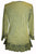 147 B Gypsy Medieval Ruffle Top Tunic Kurta Blouse India - Agan Traders, Lime Green
