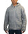 UFM 5 Lamb's Wool Warm Fleece Winter Sherpa Hoodie Sweater Coat Jacket - Agan Traders, Grey