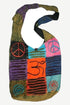 SJ 01 Agan Traders Patchwork Cross Shoulder Bag Purse