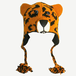 Assorted Highland Soft Wool Fleece Lined Outdoor Animal Hats