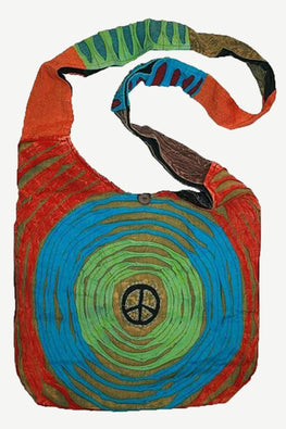 Vintage Patchwork Bohemian Shoulder Bag - Agan Traders, Multi 4