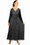 Renaissance Gothic Velvet Corset Embroidered Dress Gown - Agan Traders, Black