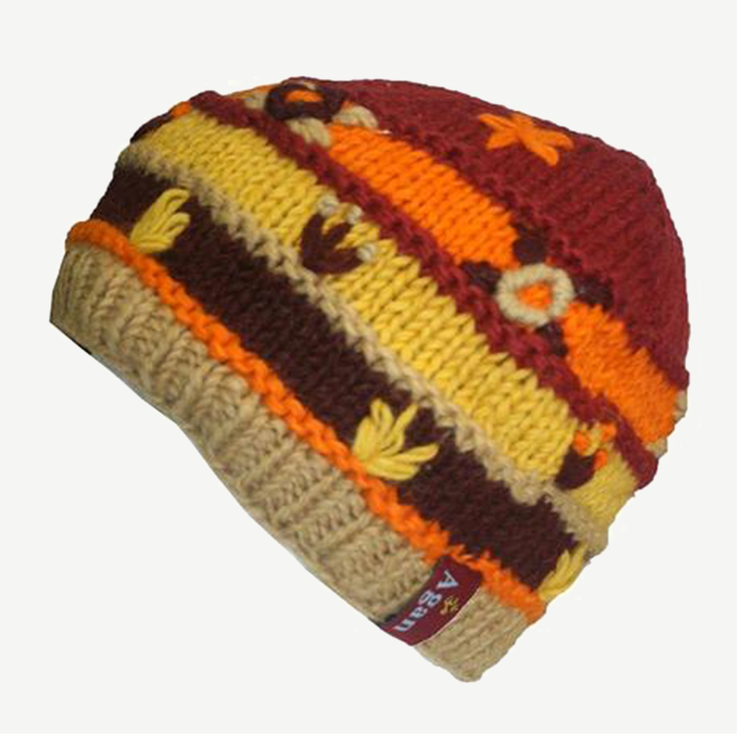 1418 Assorted Himalayan Knitted Lamb's Wool Fleece-Lined Hat OR Fingerless Mitten OR Folding Mitten