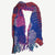 Fashion Fluffy Colorful Swirl Fringe Scarf Shawl