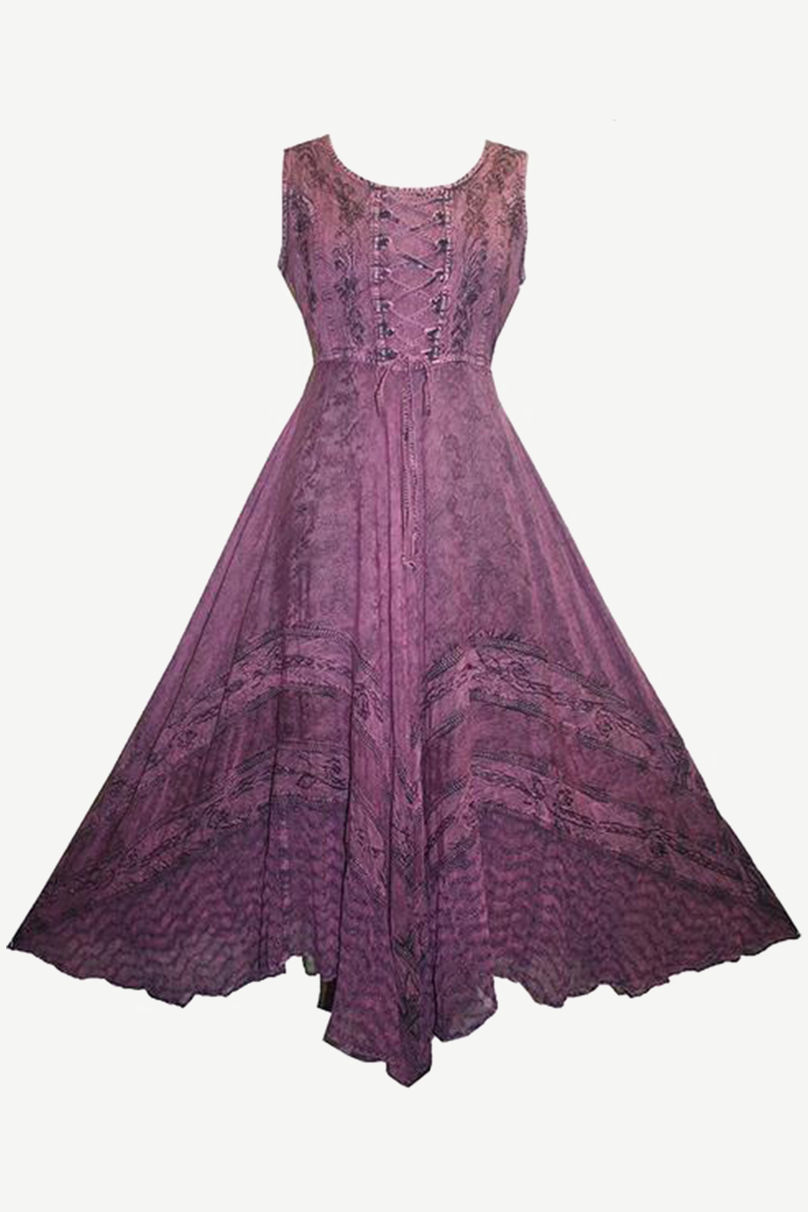 8668973725ec Sweet Empire Dazzling Flare Gothic Summer Costume Dress Gown - Agan  Traders, Plum