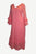 Rayon Crape Medieval Peasant Gypsy Long Dress Gown - Agan Traders, Peach