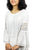 3873 B Rayon Bohemian Lace Sleeve Summer White Medieval Top Blouse