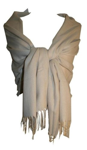 Viscose Pashmina Shawl Soft Wrap Throw:25X80 inches - Agan Traders