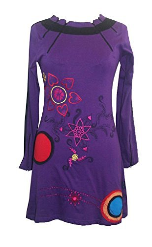77 RD Assymetrical Printed Artistic Junior Misses Dress - Agan Traders