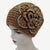 Knitted Soft Big Beautiful Flower Stones Headband