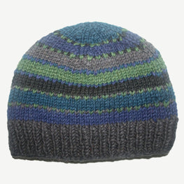 Winter Ski Warm and cozy Round Hat Cap - Agan Traders, Blue