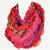 Scf 071 Fashion Vibrant Colorful Infinity Scarf