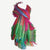 601 Scf Viscous Jaipur Printed Rainbow Shawl Wrap Throw : 26 X 68 inches