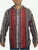 503 JKT Sherpa Heavy Duty Striped Fleece Lined Hoodie Jacket - Agan Traders, Red Multi
