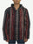 503 JKT Sherpa Heavy Duty Striped Fleece Lined Hoodie Jacket - Agan Traders, Black Multi