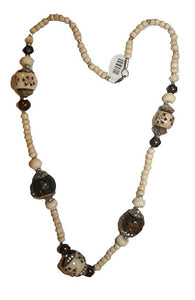Agan Traders Fashion Jewelry Choker Necklace Trendy Gypsy Vintage Bead Mala For Women ~ India - Agan Traders, NK02 13inch