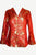 513 JKT Women's Oriental Mandarin Silk Brocade Light Jacket