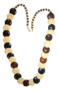 Agan Traders Fashion Jewelry Choker Necklace Trendy Gypsy Vintage Bead Mala For Women ~ India - Agan Traders, NK01 16inch