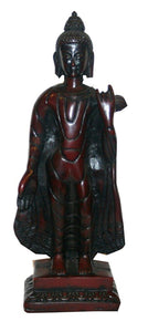Red Resin Buddha Statue - Agan Traders