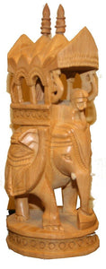 Hand Crafted Wooden Elephant Jaipur India - Agan Traders