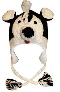 2-Ply Wool Adult Animal Hat - Agan Traders, Skunk