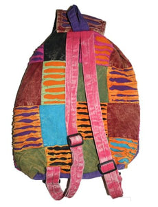 Agan Traders Bohemian Cotton Patchwork Gypsy Rucksack Backpack - Agan Traders, Style 13