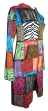 RJ 09 Agan Traders Patch Funky Cotton Boho Long Jacket - Agan Traders, Multicolor