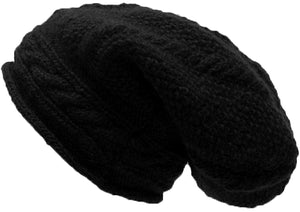 Knit Slouchy Baggy Winter Skull Hat Cap - Agan Traders