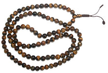 Agan Traders Original Tibetan Buddhist 108 Beads Prayer Meditation Mala - Agan Traders, Tiger's Eye