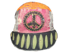 JS-185 Hand Crafted Peace Patch Colorful Hat - Agan Traders, Cadet H