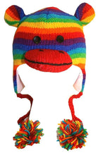 Agan Traders Wool Animal Knit Fleece Lined Flap trapper Hat Child Kids Size - Agan Traders, Sock Monkey