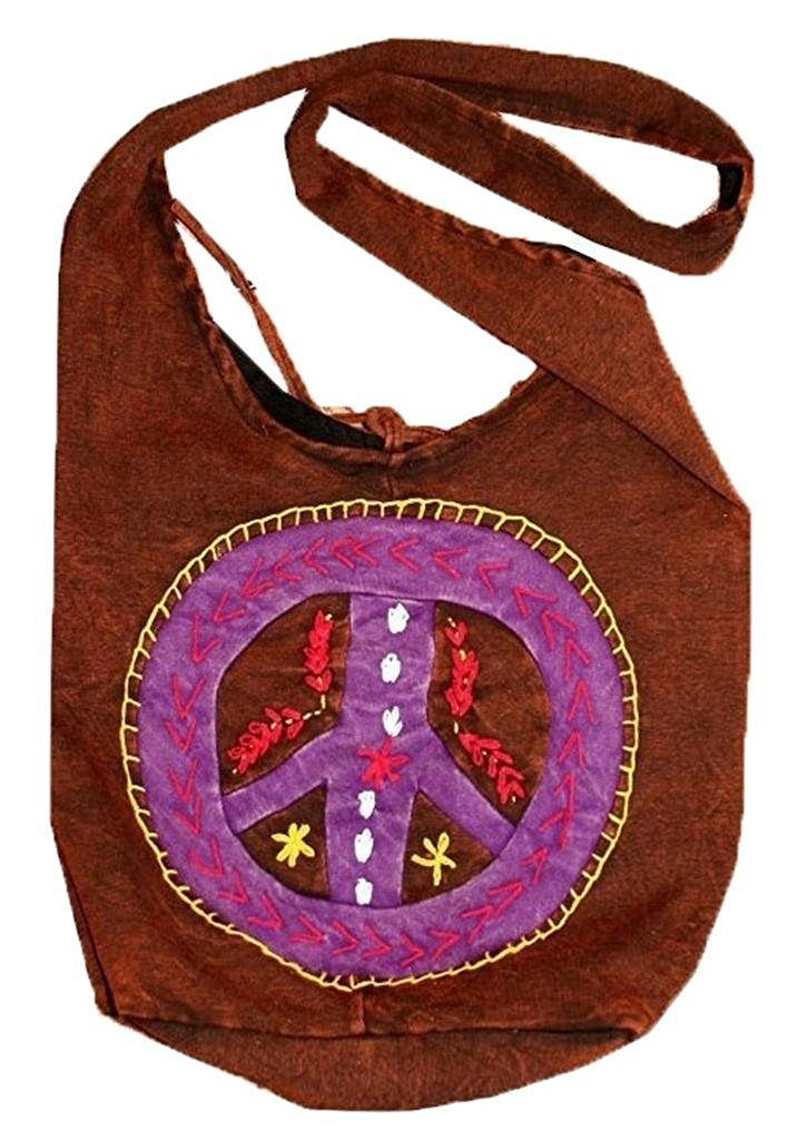 Peace Jogi Cross Shoulder Bohemian Bag Purse - Agan Traders