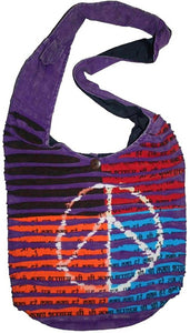 SJ 02 Agan Traders Om Peace Bohemian Shoulder Bag Purse - Agan Traders, Style 5