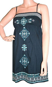 Cotton Fairy Gypsy Victorian Gothic Short Dress - Agan Traders