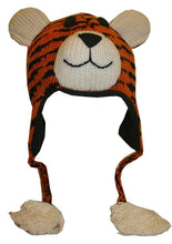2-Ply Wool Adult Animal Hat - Agan Traders, Tiger